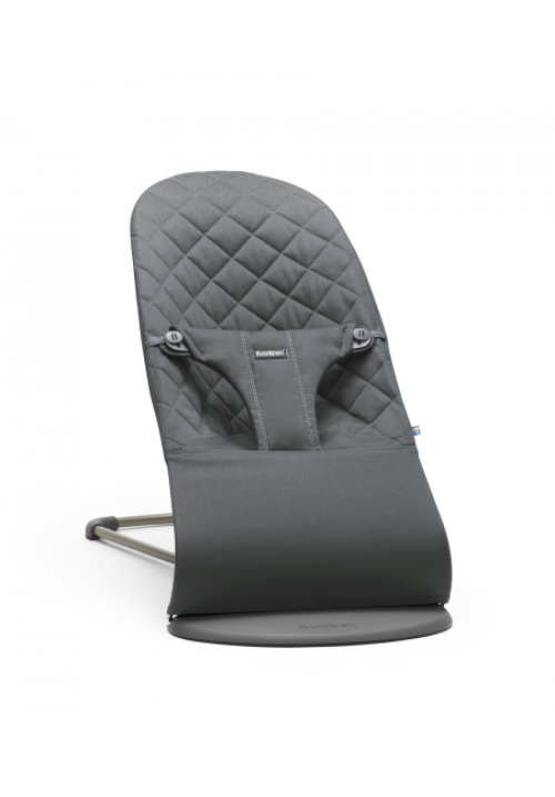 BabyBjörn LEHÁTKO BOUNCER BLISS ANTHRACITE COTTON